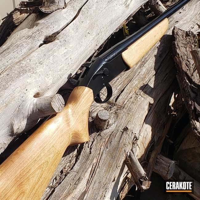 "Thumbnail image for project ""Cerakoted Shotgun in H-109 Gloss Black"""