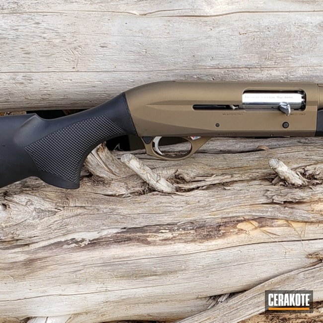 "Thumbnail image for project ""Benelli Shotgun Cerakoted in H-146 and H-148"""