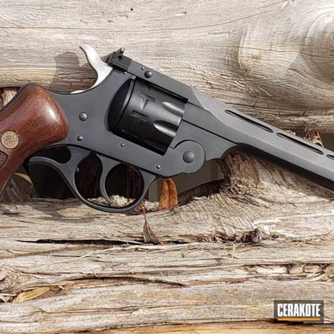"Thumbnail image for project "".22 LR Revolver Cerakoted with H-146 Graphite Black"""