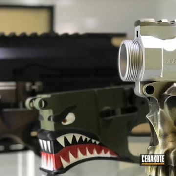 Cerakoted Cerakote Sharps Brothers Lower Ar Receivers
