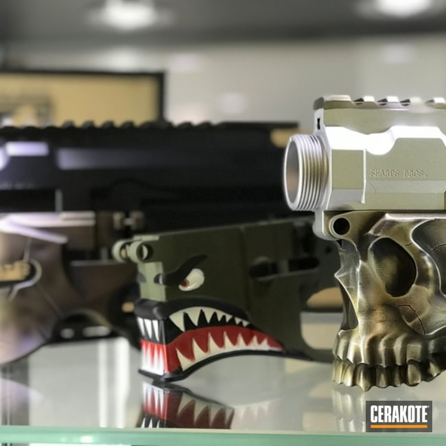 Cerakote Sharps Brothers Lower AR Receivers