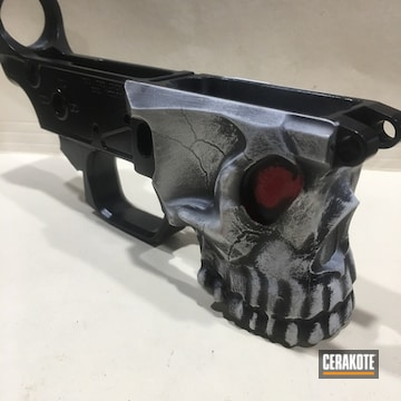 Cerakoted Custom Sharps Lower Receiver And Custom Cerakote Finish