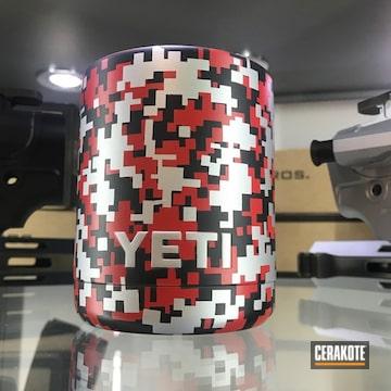 Cerakoted Yeti Cup With Cerakote Digital Camo Finish