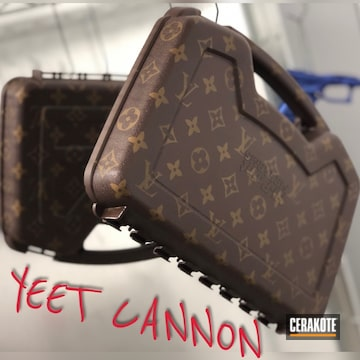 Cerakoted Hi-point Louis Vuitton Themed Gun Case