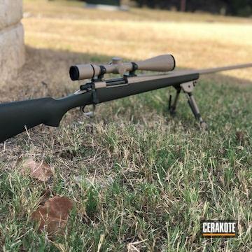 Cerakoted Remington 700 Bolt Action Rifle Cerakoted In H-203