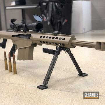Cerakoted Barrett .50 Cal Long Range Rifle Cerakoted With H-267
