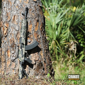 Cerakoted Cerakote Digital Camo Ak-47