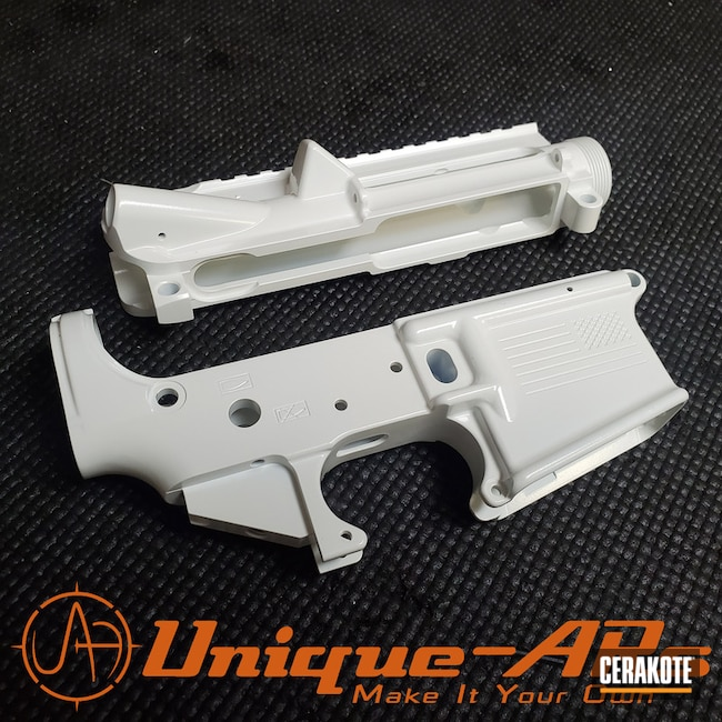 "Thumbnail image for project ""Upper / Lower Cerakoted in H-297 Stormtrooper White"""