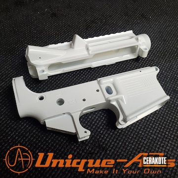 Cerakoted Upper / Lower Cerakoted In H-297 Stormtrooper White