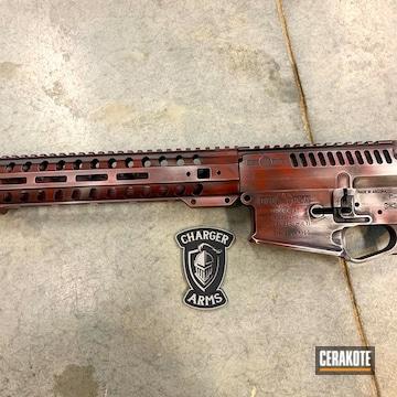 Cerakoted Custom Battleworn Pof Upper / Lower / Handguard