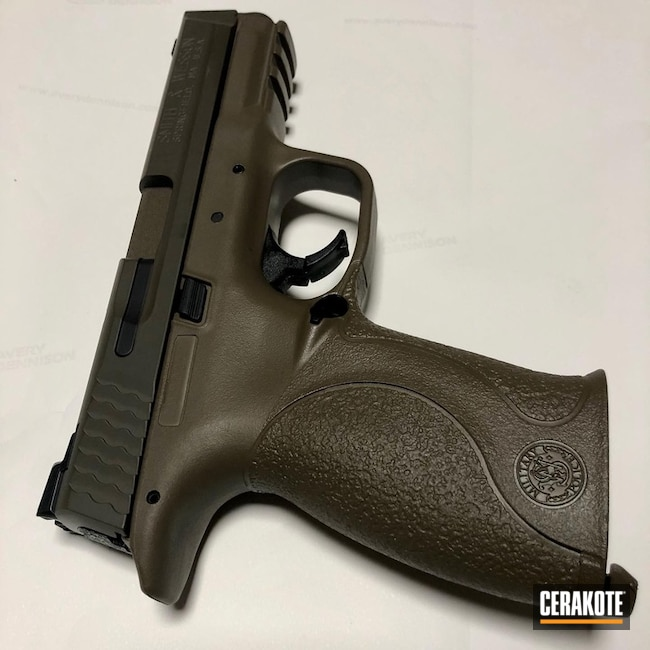 Smith & Wesson Handgun Cerakoted with H-148, H-190, H-226 and H-261