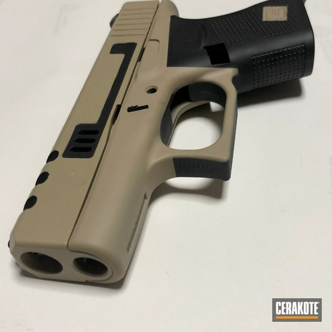 "Thumbnail image for project ""Two Toned Cerakote Handgun using H-190 and H-199"""