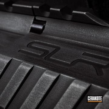 Cerakoted Ar9 9mm Carbine In A Battleworn H-146 And H-227 Cerakote Finish