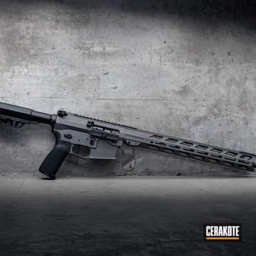 Cerakoted Custom Ar Build Cerakoted With H-237 Tungsten