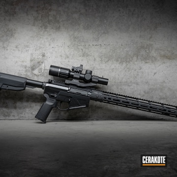 Cerakoted Bcm Rifle Cerakoted With E-100 Blackout