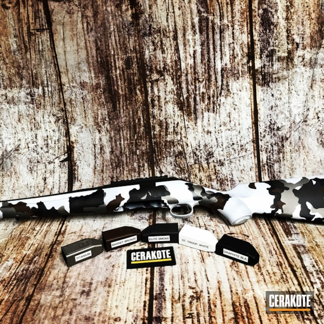 H-146, H-259, H-297 and E-120 Cerakote MultiCam Finish