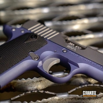 Cerakoted Kimber Micro Cerakoted With H-314 Crushed Orchid