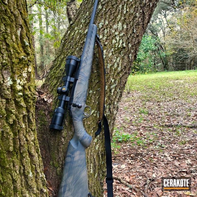 Cerakoted: SHOT,Bolt Action Rifle,Freehand Camo,MAGPUL® FLAT DARK EARTH H-267,Ruger,BARRETT® BRONZE H-259,Mil Spec O.D. Green H-240,Gun Coatings,Ruger 30-06