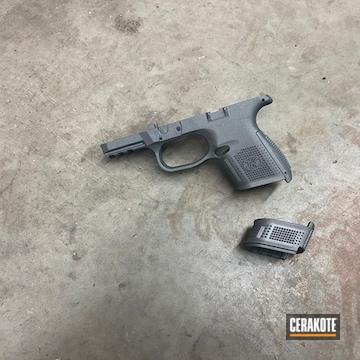 Cerakoted Fn Mfg. Pistol Cerakoted With H-234 Sniper Grey