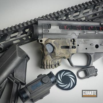 Cerakoted Predator Movie Themed Cerakote Rifle Finish
