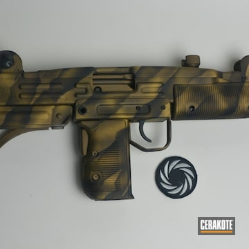 Cerakoted Cerakote Stripe Camo Finish Using H-148, H-122 And H-190