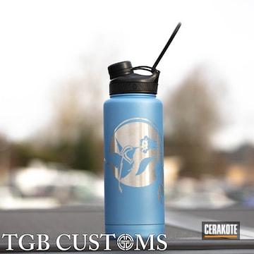 Cerakoted Aluminum Water Bottle Cerakoted With H-326