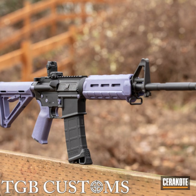 Cerakoted Palmetto State Armory Ar-15 Cerakoted With H-314