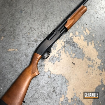 Cerakoted Remington 870 Pump-action Shotgun Cerakoted With E-100