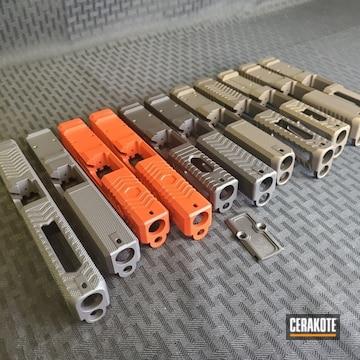 Cerakoted Pistol Slides Cerakoted With H-146, H-148, H-167, H-190, H-237 And H-294