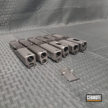 Cerakoted Pistol Slides Cerakoted With H-146, H-190 And H-237