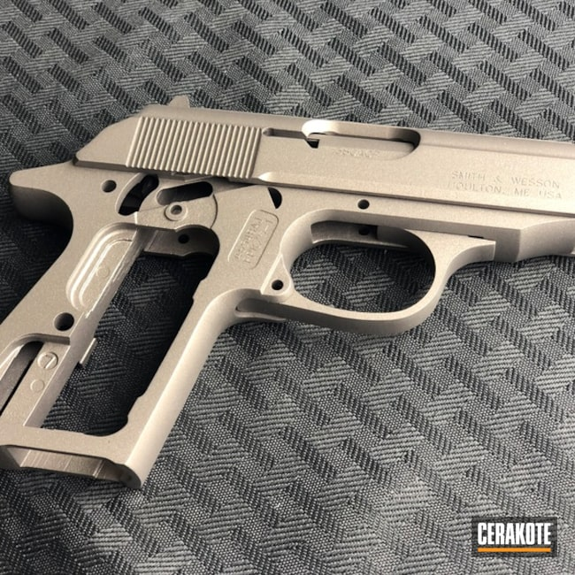 Cerakoted: SHOT,Smith & Wesson,Stainless H-152,Solid Tone,Gun Coatings