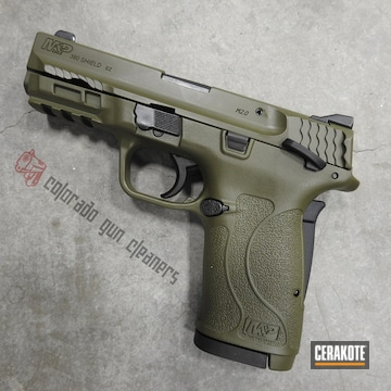 Cerakoted M&p Shield Cerakoted With H-189