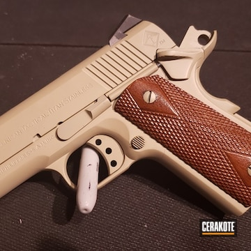 Cerakoted Ati 1911 Handgun Cerakoted With H-247