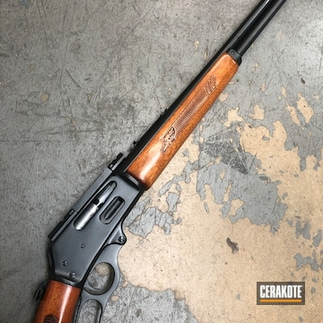 Cerakoted Lever Action Glenfield 30a Rifle Cerakoted With E-110
