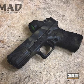Cerakoted Glock Multicam Cerakote Finish Using H-146, H-231 And H-234