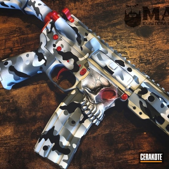 Cerakoted: S.H.O.T,MAD Land Camo,USMC Red H-167,Tactical Rifle,Jack,Snow Camo,Bright White H-140,War Torn,Spike's Tactical The Jack,Graphite Black H-146,BATTLESHIP GREY H-213,Gun Coatings,AR-15