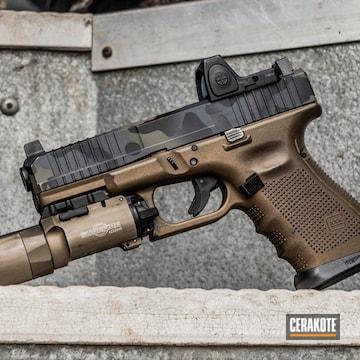 Cerakoted Cerakoted Glock Using H-136, H-231 And H-234