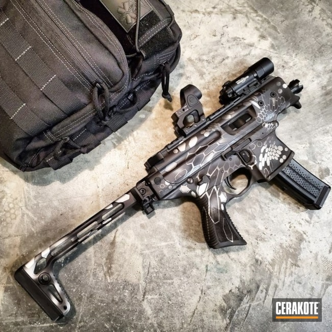 Sig MPX Kryptek Finish Cerakoted with H-146, H-112, H-151 and H-170