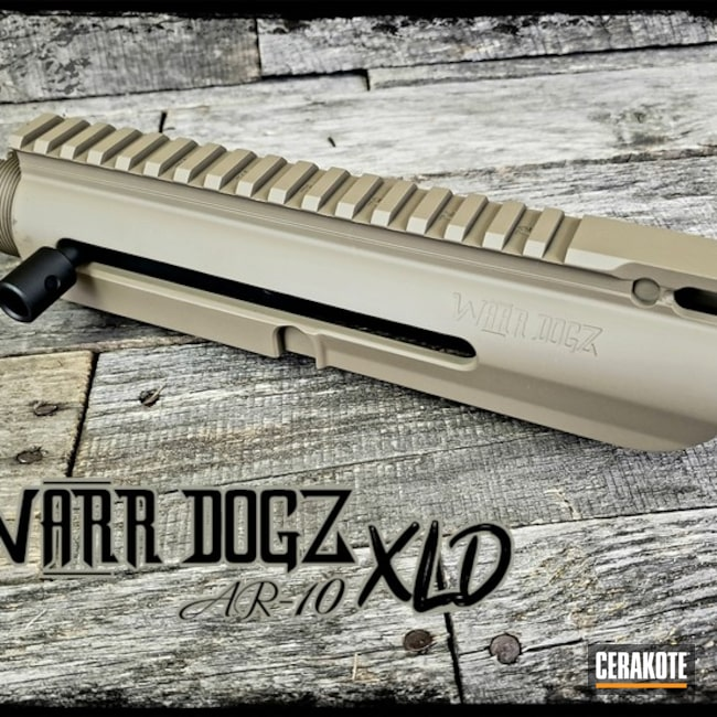 "Thumbnail image for project ""6.5 Creedmoor Upper Receiver Cerakoted with H-146 and H-267"""