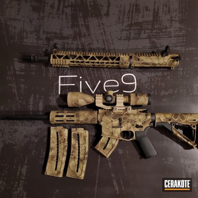 Cerakoted: S.H.O.T,Coyote Tan H-235,Kryptek,Desert Kryptek,Desert Sand H-199,Arid Kryptek,Patriot Brown H-226,Tactical Rifle,Arid,Gun Coatings