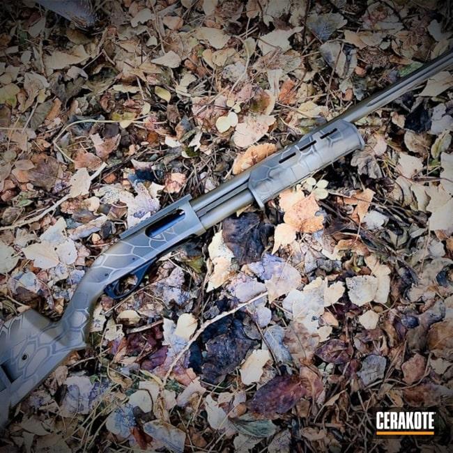 Cerakoted: S.H.O.T,Shotgun,Mil Spec O.D. Green H-240,Patriot Brown H-226,Remington 870,Remington,Gun Coatings,Flat Dark Earth H-265