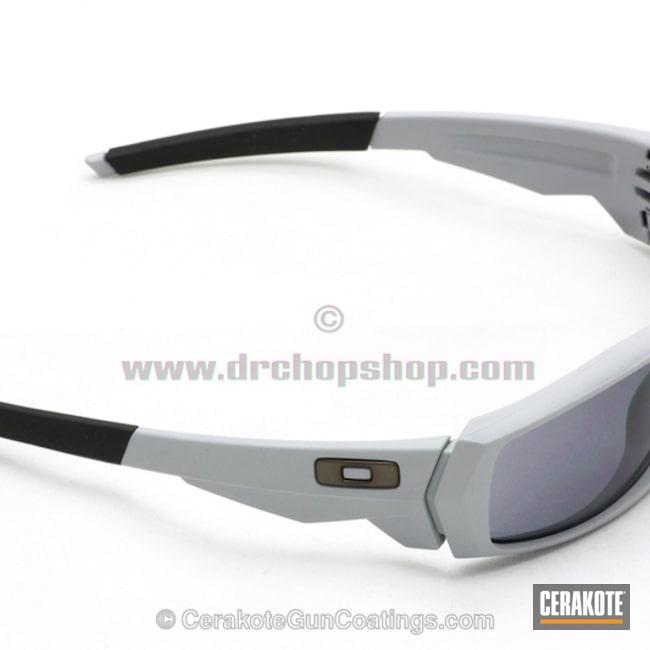 Cerakoted: Sunglasses,Oakley,BATTLESHIP GREY H-213