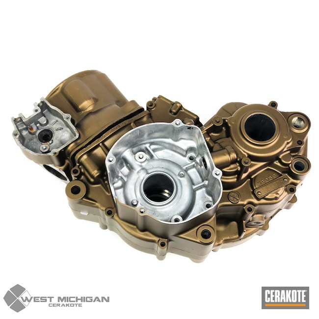 Cerakoted: Burnt Bronze H-148,More Than Guns,Engine,Automotive
