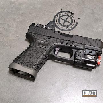 Cerakoted Custom Glock 19 Handgun Cerakoted With H-190