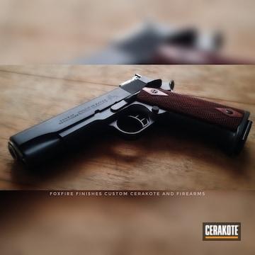 Cerakoted Colt 1911 Handgun Cerakoted With H-146