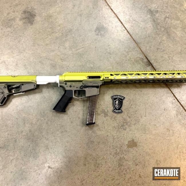 Cerakoted Hombre Camo Ar Pistol Cerakoted With H-237, H-297 And H-313