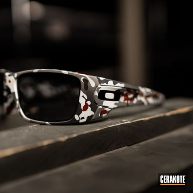 Oakley Sunglasses Cerakoted with H-221, H-213, H-234 and H-297