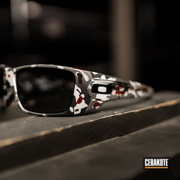 Cerakoted Oakley Sunglasses Cerakoted With H-221, H-213, H-234 And H-297