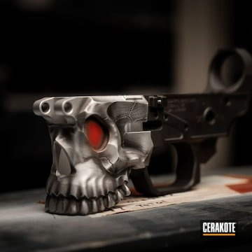 Cerakoted Spike's The Jack Lower Receiver Cerakoted With H-146, H-152 And H-216