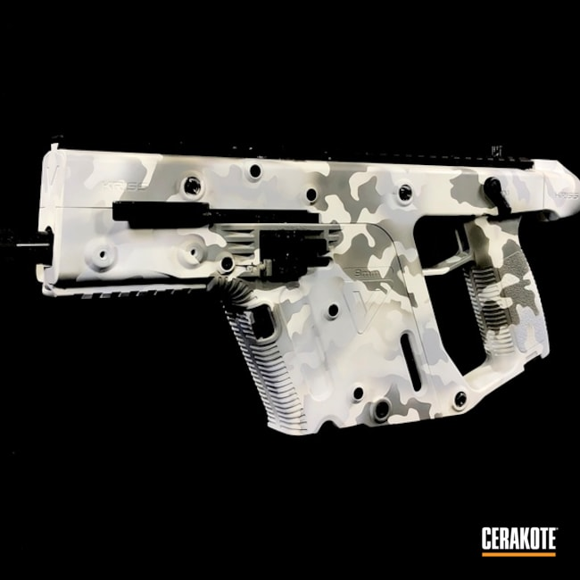 "Thumbnail image for project ""Snow Camo Kriss Vector Cerakoted with H-140, H-213 and H-214"""
